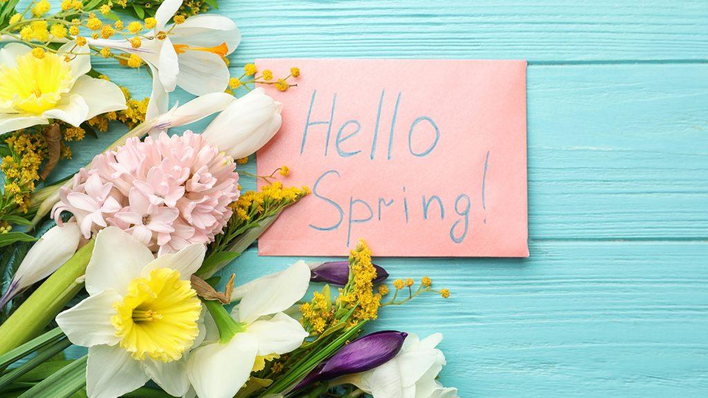 Springtime and Hope…