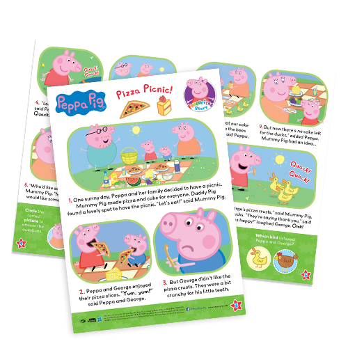 Fun To Learn - Peppa Pig Story