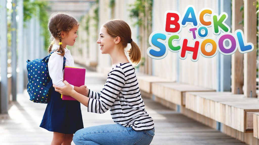 The 5 GOLDEN RULES for parents worried about their children starting school.