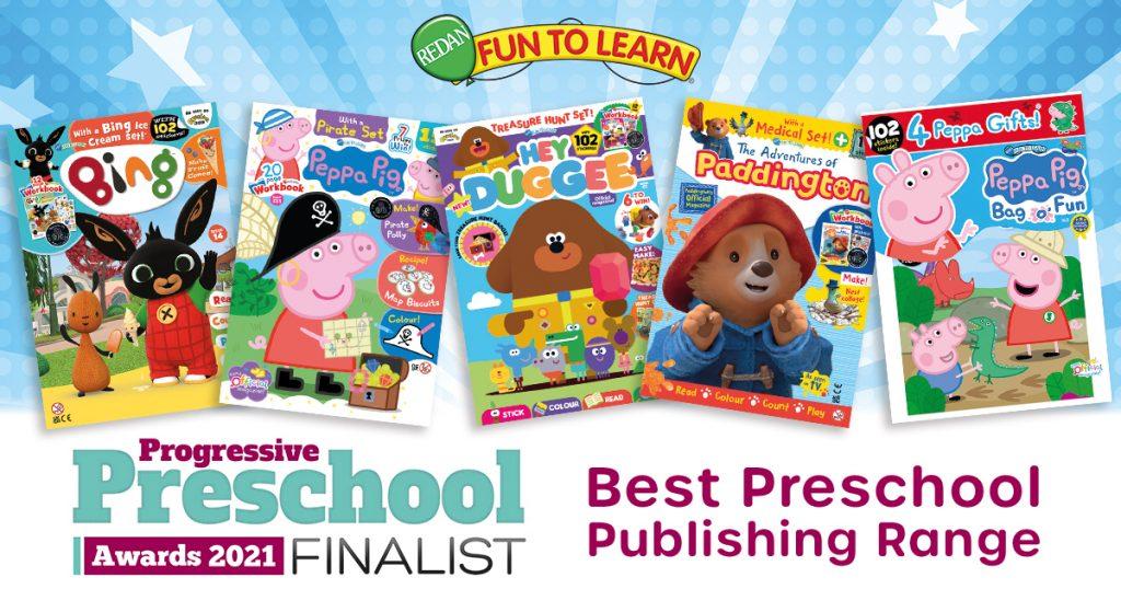 Progressive Preschool Awards 2021 Finalist!