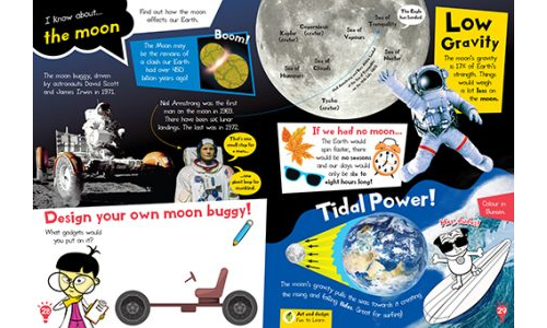 Learn About The Moon