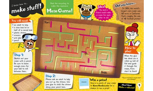Make A Maze Game