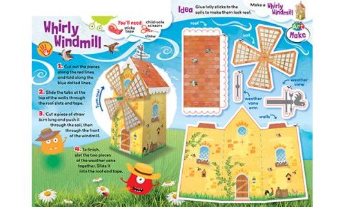 Make a Whirly Windmill