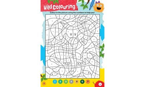 Wild Animal Colouring