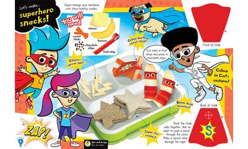 Make Superhero Snacks!