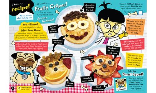 Fruity Crêpes!
