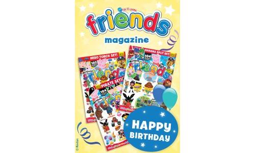 Friends Birthday Gift Card