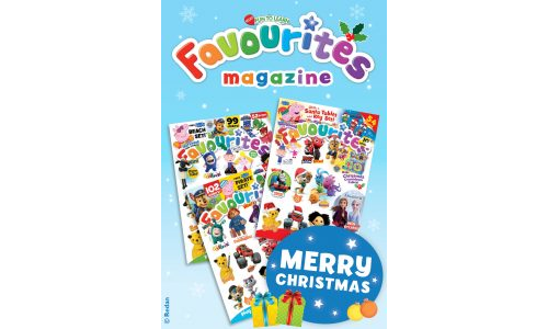 Favourites Christmas Gift Card