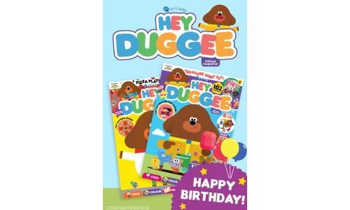Hey Duggee Birthday Gift Card