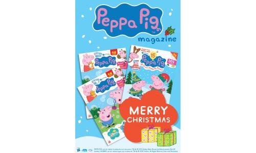 Peppa Pig Christmas Gift Card