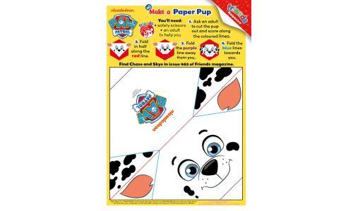 PAW Patrol Marshall Paper Pup