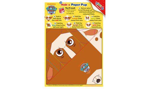 PAW Patrol Rubble Paper Pup