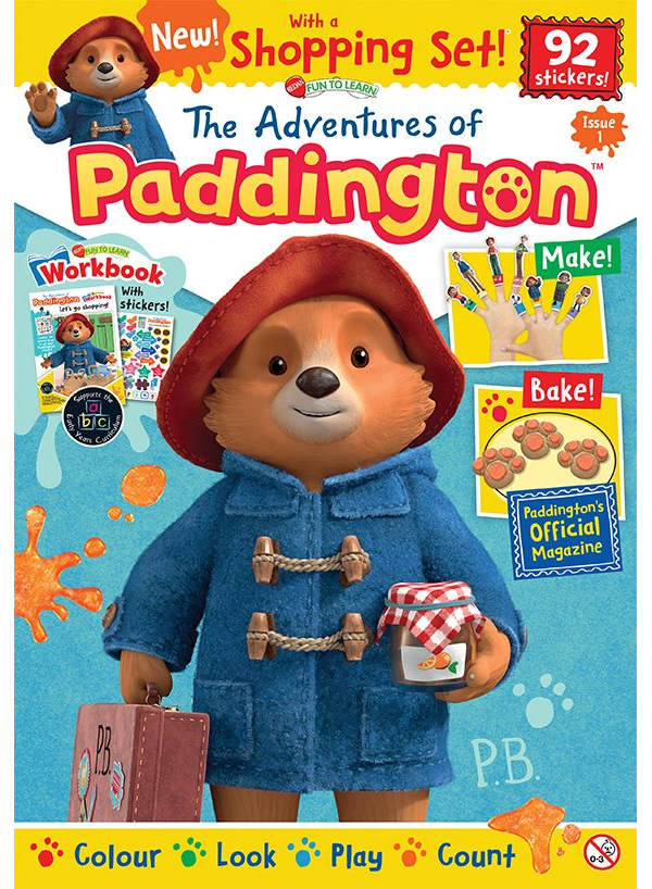 The Adventures Of Paddington Magazine