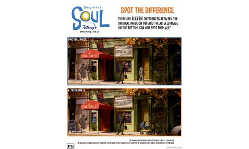 Disney Soul Spot The Difference