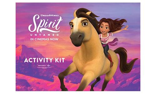 SPIRIT UNTAMED activity Kit