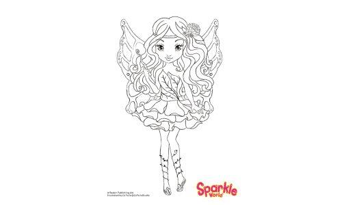 Colour Girl Fairy - Spring