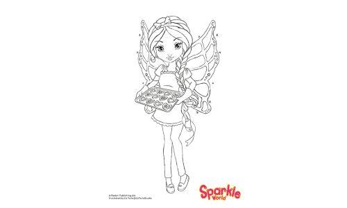 Colour Girl Fairy - Baking