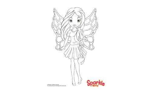 Colour Girl Fairy - Summer